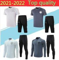 2021 Germany Men Soccer Jerseys Sets Tracksuits Sportswear Jersey home away 20 21 Training uniform Polo shirt tracksuit pants long sleeve