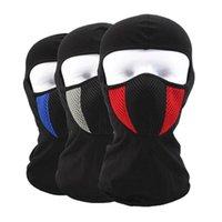 Cycling Caps & Masks Bicycle Face Mask Outdoor Winter Bike Helmet Warm Climbing Skiing Windproof Dustproof Cotton Thermal Balaclava Head Pro