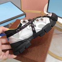 Chaussures Flashtrek avec cristaux amovibles MenssNeaker Mode Femme Baskets Casual Taille 35-45 km001