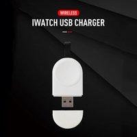 المحمولة الذكية USB شاحن لاسلكي مغناطيسي ل Apple Watch Safety Fast شحن قفص الاتهام iWatch 1 2 3 4