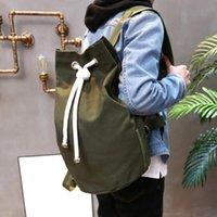 Backpack Sports Waterproof Pouch Drawstring Bags Women Men Unisex Pull Rope Canvas Gym Sack Mochila Knapsack