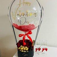 Gift Wrap Love Set I You Box Flower Boyfriend Girlfriend Wedding Favor Valentine's Day Lovely Girl Stuffed Cute Married Baby Toy