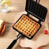 Waffle Maker Machine FAI DA TE Non-stick Metallo Pan Della Torta Forno Forno a forma di pesce Strumentazione per la colazione resistente al calore