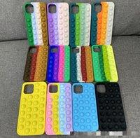 Casi di discesa unica del custodia 3D per iPhone 13 12 Pro Max 11 XR XS X 10 8 7 Plus Soft Silicone Gomma Moda Cellphone Back Gel Skin Copertura mobile