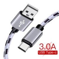 3A Schnellladung 3.0 USB Typ C Kabel für Xiaom RedMi Hinweis 7 Schnelles Ladegerät 2M Typ-C-Kabel für Samsung S9 S10 S8 plus USB C