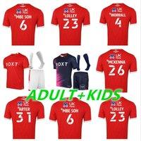Yetişkin Çocuklar 21 22 Nottingham Orman Uzakta Futbol Formaları Lolley Grabban 2021 2022 Ev Watson Nakit Futbol Gömlek Silva Ameobi Erkekler + Çocuk Tayland Blue Jersey