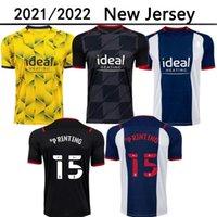 21 22 West Brom Home Away Dritter Fussball Trikots 2021 2022 weg Fußball Hemd Camiseta de Futbol Bromwich Albion Robson-Kanu Uniform Kids Kit Junge