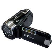 Caméscope numérique de la caméra Video Full HD 1080P 2,7 pouces 16MP haute définition ABS FHD DV Caméras 270 degrés Rotation