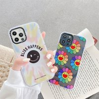 Smiley Sun flower soft silicon phone case for apple iphone 12 MiNi 7 8 X XS XR MAX 11 Pro plus fashion cover