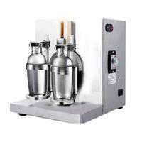 110V 220V Werbeblasen Tee Shaker Blase Tee Shaking Machine Doppelköpfige Schüttelmaschine Bar Wine Milch Shake Machine