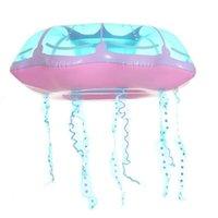 성인 풍선 해파리 수영 반지 재미 있은 풀 플로트 공기 매트리스 수영 장난감 수영장 물 재미 뗏목 J1210
