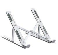 Suporte de liga de alumínio portátil para Macbook Air Pro iPad Caderno Dobrável Tabuleta Titular