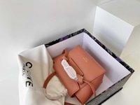 CL Classic Belt Nano clamshell lychee striped catfish bag with one-shoulder handbag mini storage-bag 7L3Q