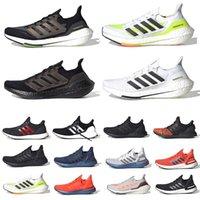 أحدث حذاء رياضي رجالي 2021 Ultra Boost يعمل بضوء فلاش شمسي أصفر تقني نيلي Ultraboost 4.0 20 نواة ثلاثي أسود أبيض Sashiko حذاء رياضي للرجال والنساء