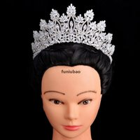 Tiaras ve Taçlar Hadiyana Klasik Yeni Moda Tasarım Gelin Saç Aksesuarları Yıldönümü Düğün Kadınlar BC5070 Corona Princesa CJ191226