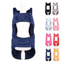 Cross-Border New Arrival Pet Clothes Fleece Vest Style Dog Clothes Autumn and Winter Warm Dog Dog Clothes Kitten Small