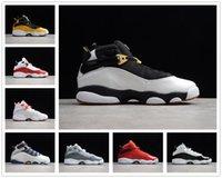[Kutu ile]Air Jordan 6 Rings AJ6 Livraison gratuite 6 anneaux hommes chaussures de basket-ball six Taxi Bred formateurs Noir Ice Cool Hommes Gris Concord sport Chaussures de sport