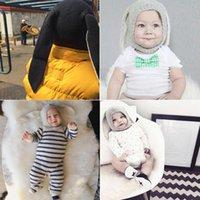 Jocestyle Winter Baby уши вязаная шляпа малыша детская шерстяная шапка для детей 0-3Y Dropshipping