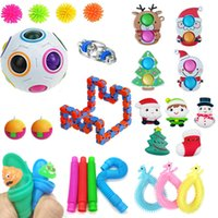 27 Fidget Packs Fidgets Toys Set Stress Relief Hand Simple Dimple Toy for Adults Kids Anxiety Autism, Birthday Party Favors, Goodie Bag Fillers Classroom Rewards