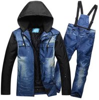 High Quality Men Snowboarding Suit and Pant Breathable Snowboard Coat Ski Jacket Trousers Male