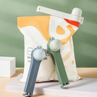 Bag Clips Pourable Food Preservation Sealing Clip Plastic For Discharge Spout Machine Kitchen Storage And Organization