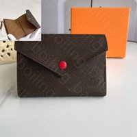 Designer PureWallet Designer Luxury Brand Purse Single Zipper Väskor Mini Plånböcker Kvinnor Handväskor Tote Real Leather Lady Plaid Profesescard Holder Duffel Bagage