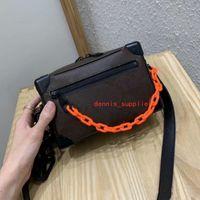 Mini top quality Classic box bags men crossbody chest desginers ladies outdoor handbags bag for man size: 18x13x8