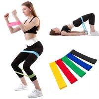 عصابات المقاومة اليوغا الجسم بناء حزام اللياقة البدنية ممارسة الفرقة عالية التوتر العضلات لساق الكاحل التدريب الوزن fwe7515