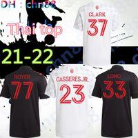 MLS 2021 2022 New York Kırmızı Futbol Formaları Ev 21 22 Bulls Uzun Duncan Casseres Jr. Clark Royer Camiseta de Fútbol Insua Futbol Gömlek