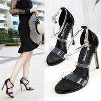 الصنادل maiernisi المرأة مريحة لينة مثير أحذية السيدات الكلاسيكية مشبك الكاحل حزام عالية الكعب
