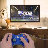 Maniglia per console console con consolle Gamepad cablato USB PC universale Mangia maniglie di pollo per X Box One Controller