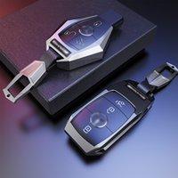 Автомобиль Удаленный ключей Крышка Клавиша Клавиша Для Mercedes Benz Class A B C S R V GL и ML GLA GLA GLE GLC GLS SLC EQC AMG Car Styling