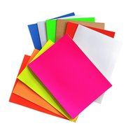 100Sheets A4 Färgglada Blank lim Klistermärke Självhäftande A4 Kraftpapper för laser bläckstråleskrivare Packaging Etikett 11 Se Jlylgt