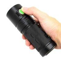 Lanternas Tochas Poderoso 3500 Lúmen LED XHP70 USB Recarregável Lâmpada De Tocha De Alumínio 18650 3 Modos Flash Light for Camping