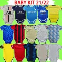 Chelsea psg 2021 Bebek Kiti AC Futbol Forması Milan Manchester Çocuklar Suit 2022 Erkek Çocuk Setleri Paris Futbol Gömlek 21 22 Ronaldo Üniforma Messi Mavi Kırmızı Beyaz SZE 6-18