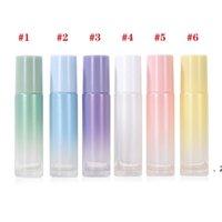 10ml roller ball Bottlepearl Light Gradient Fine Magazyn Butelki Szklane Olej Essential Butelka, Perfumy Fritillary HWD9340