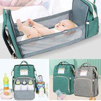 Diaper Bags Bag Travel Baby Large Capacity Care Mummy Nursing Backpack Sleeping Crib Stroller