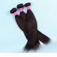 Vendita calda Straight Wave Hair Hair Haite 100g Bundle 3pcs 4pcs Lot Option Extensions per capelli