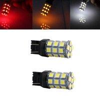 hotsale T20 7443 W21 / 5W T20 7440 5050 27SMD 라이트 LED 전구 자동 자동차 브레이크 턴 스톱 후면 램프