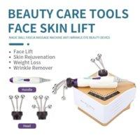 Facial Massage Device Lifting V Shape Microcurrent Face Lift Machine Magic Ball Fascia Massage Tightening Beauty Instrument