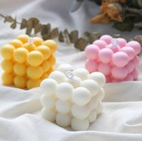 DIY velas molde de soja cera de soja molde aromaterapia vela de gesso 3d molde de silicone feitos à mão velas de soja aroma moldes de sabão de cera dwf5362