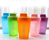 400 ml de whey proteína em pó misturando garrafa esportes ginásio ginásio garrafa exterior portátil bebendo garrafa bebendo shaker