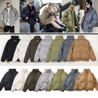 Mais novos homens down inverno moda parkas mans mulheres letras essenciais impresso casacos casaco homens designer zipper streetwear casacos