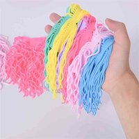 TPR Candy Colors Creative Fidget Sensory Toy Game Noodle Rope Stress Reliever Vent Decompression Pull Ropes Anxiety Relief Toys Board G783WPN