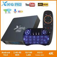 TV BOX X96Q Pro Smart Android 10.0 TV BOX Allwinner H313 Quad Core 2G 16G ROM 2.4g&5G wifi 4K HD AndroidTV Set Top Box