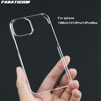 Glossy Hard Plastic PC Transparent Cases For iphone 13 pro Max Mini Clear Phone Cover iphone13 13pro 13mini Shell
