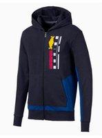 F1 nuovo stile da uomo da uomo con cerniera con cappuccio maglione con cappuccio autunno e inverno giacca casual alla moda giacca di marca alla moda con lo stesso paragrafo custo