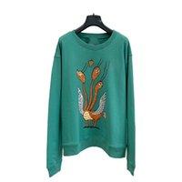 Women's designer hoodie animal print jogging suit men's loose high-quality sweatshirt streetwear Size XS-L