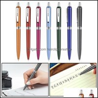 Business & Industrial1Pc Creative Cute Metal Ballpoint Pens 1.0Mmnovelty Ball For Writing School Office Supplies Stationery Drop Delivery 20