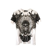 2021 Nouveaux hommes T-shirt King of Bling Crystal Crâne T-shirts T-shirts Tshirts pour hommes Tops Camiseta Masculina Tee shirt Homme PP DY15 UFZQ
